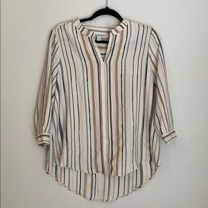 DANA BUCHMAN striped blouse